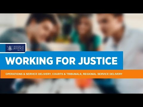 Working for Justice: Operations and Service Delivery