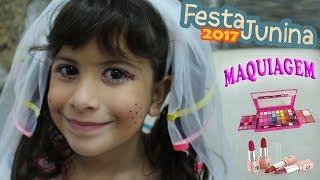 ARRUME-SE COMIGO: Maquiagem Festa Junina