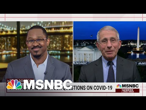 Dr. Anthony Fauci On The U.S. Fight Against Covid-19 | Joshua Johnson | MSNBC