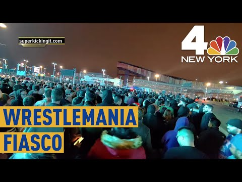 Thousands of Fans Stranded After Wrestlemania  NBC New York