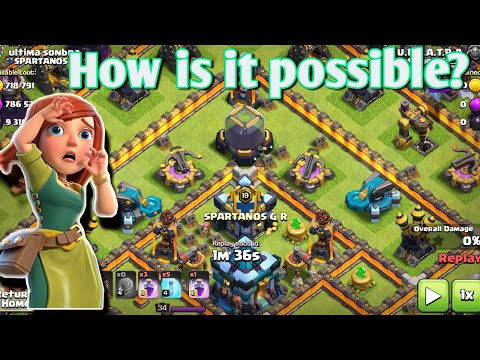 OMG!!!! WHAT THE HELL? INACTIVE DEFENSE BUT GREAT AMOUNT OF LOOT • Smart Gaming Clash Of Clans