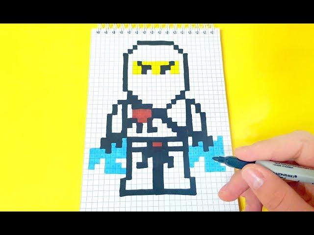 Pixel Art Lego Ninjago