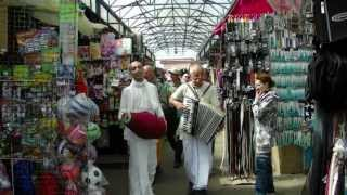Харе Кришна на центральном рынке в Бобруйске