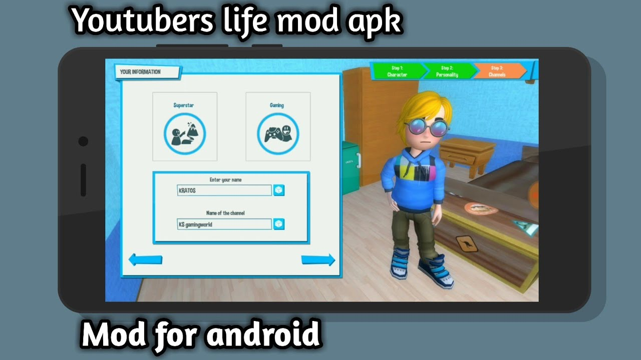 Youtubers life mod apk free download - YouTube
