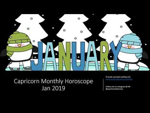 Capricorn Monthly Horoscope (Jan 2019)