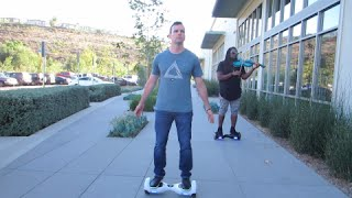 HOVERBOARD RACING with David Lopez