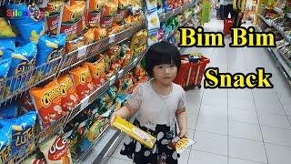Go To Supermarket tập 3 Gia Linh Đi Siêu Thị Mua Bim Bim Go To Supermarket buy Snack