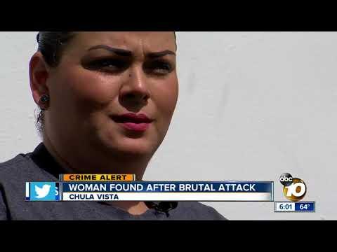 Woman found bleeding behind strip mall in Chula Vista