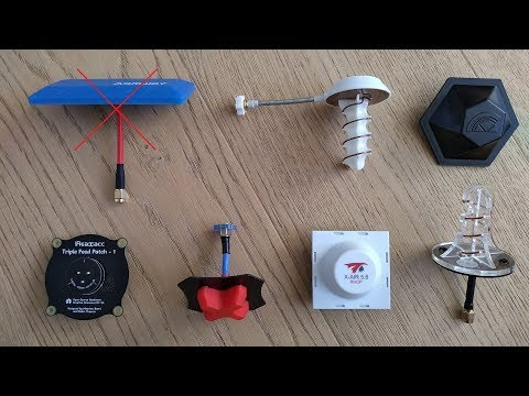 Download FPV video comparaison, small RX antennas [ part5