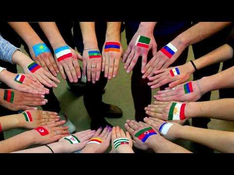 Братья Даги Адыги Вайнахи Осетины Армяне Славяне танцуют! Лезгинка. Вместе - Мы сила!