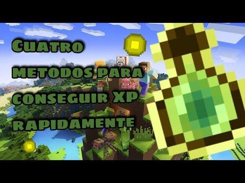 Cuatro Metodos Para Conseguir XP En Minecraft 1.14 | 2019 | GoldemSheep