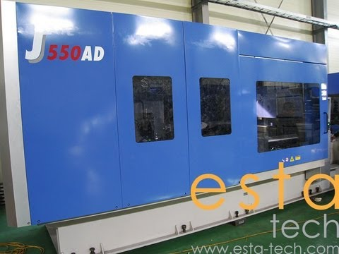 JSW J550AD-460H US (2012) High Speed Electric Plastic Injection Moulding Machine