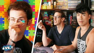 Can 4 Guys Beat A Puzzle Master?! screenshot 4