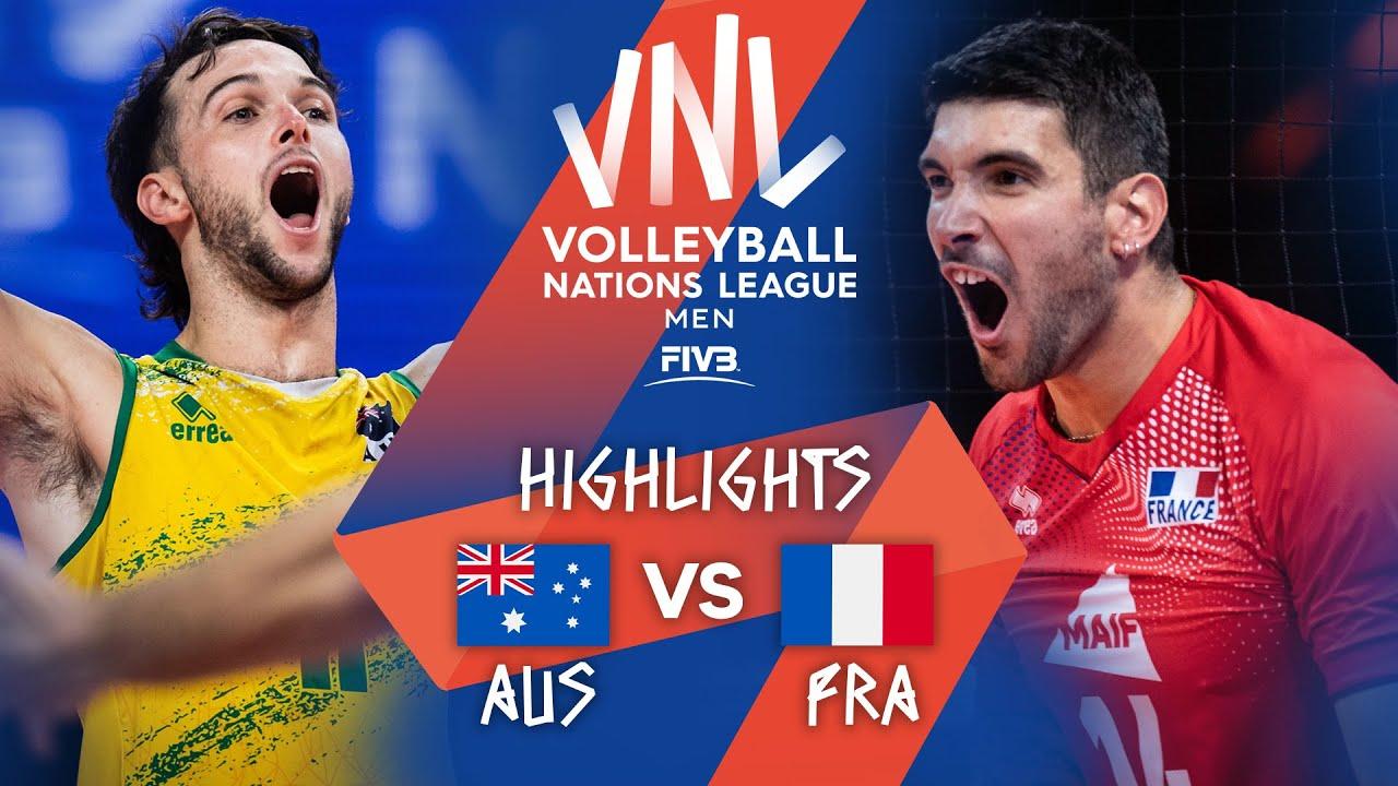 Download AUS vs. FRA - Highlights Week 1 | Men's VNL 2021