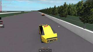 Roblox NASCAR Pocono Test Session Race
