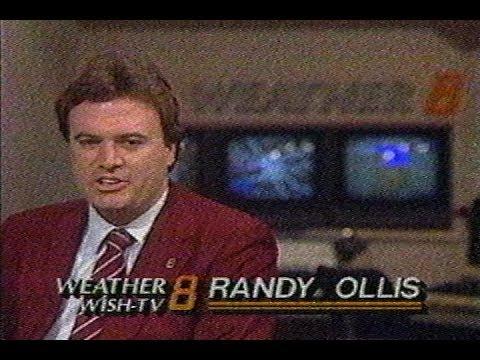 April 24, 1988 - Randy Ollis Indianapolis Weather Forecast