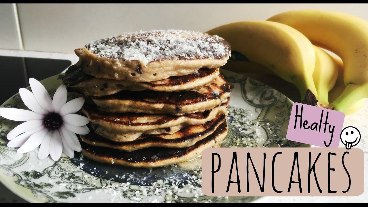 Recette || Pancakes Sans Gluten et Sans Lactose, banane chocolat - YouTube