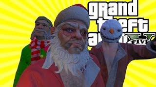 Noel Dayı ve At Hırsızları - GTA 5 Online Eğlenceli Anlar