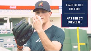 Practice Like The Pros: Mąx Fried demonstrates how to throw his elite curveball