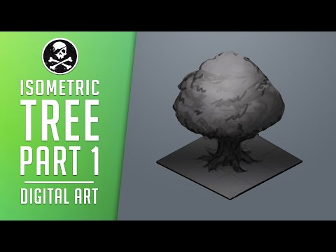 How to Draw Games #9 | Isometric Tree - Part1