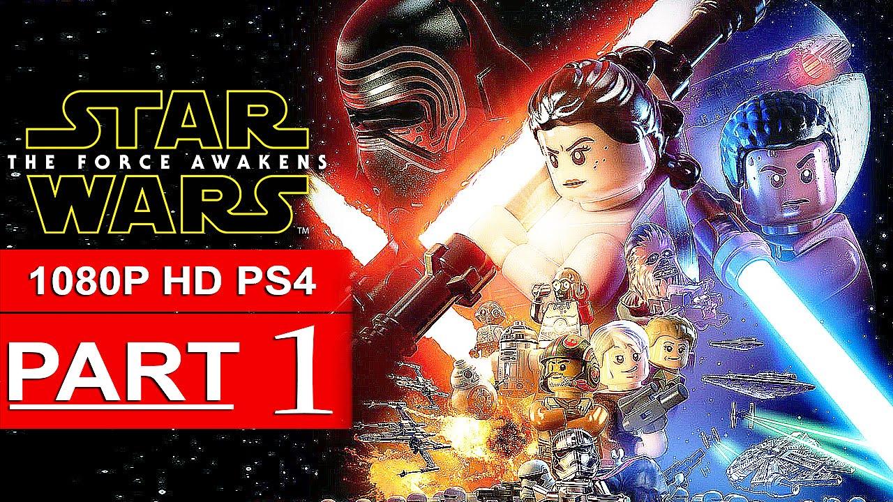 Star Wars Force Awakens 1080p: LEGO Star Wars The Force Awakens Gameplay Walkthrough Part