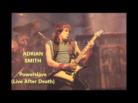 Adrian Smith Guitar Only - Powerslave(Live After Death)