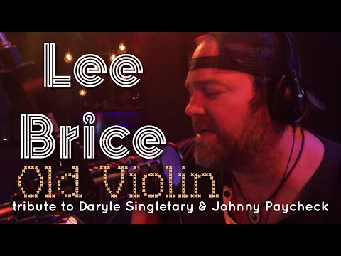 Lee Brice tribute to Daryle Singletary