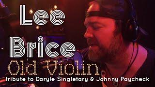 Lee Brice tribute to Daryle Singletary