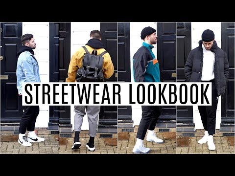 STREETWEAR LOOKBOOK 2018 | Four Outfit Ideas | Mens Fashion 2018