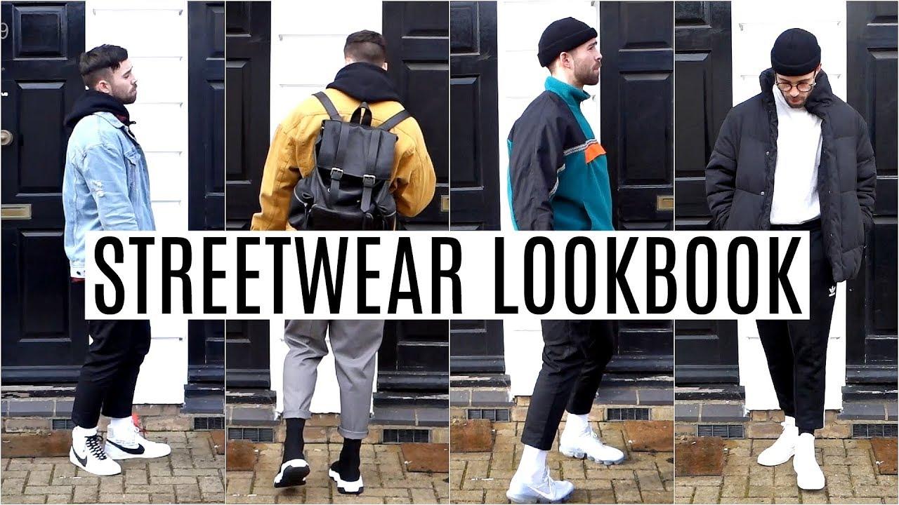 Streetwear Lookbook 2018 Four Outfit Ideas Men S Fashion 2018 Youtube
