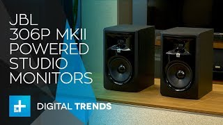 JBL 306P MkII Powered Studio Monitors - Hands On Review