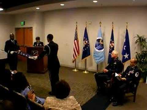 Quot Flag Folding Ceremony Quot Usaf Retirement Ceremony Youtube