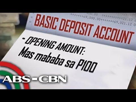 Bandila: Pwede nang magbukas ng account kahit mas mababa sa P100