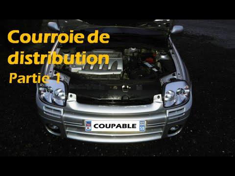 [CLIO RS1] Remplacement courroie de distribution partie 1/3
