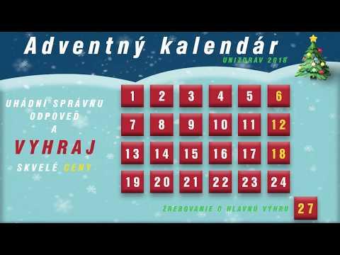 Vianočná súťaž - adventný kalendár unizdrav