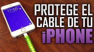 Protege el cable USB del iPhone, no lo botes y ahorra dinero!