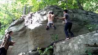 Genital Geometry V6 (Christian) FIRST ASCENT