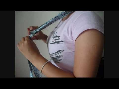 how to put a halter on