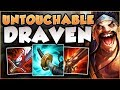 I'M TYLER1 NOW! DRAVEN IN TOP LANE IS ACTUALLY A 200 IQ PICK?? DRAVEN GAMEPLAY! - League of Legends