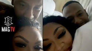 "Moneybagg Yo & ""GF"" Ari Pillow Talk In Miami Hotel! 😘"