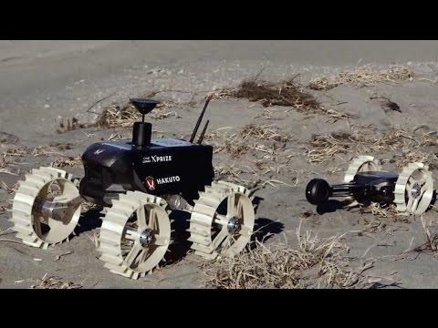 CNET News - Google Lunar XPrize: Rovers on the beach with Te