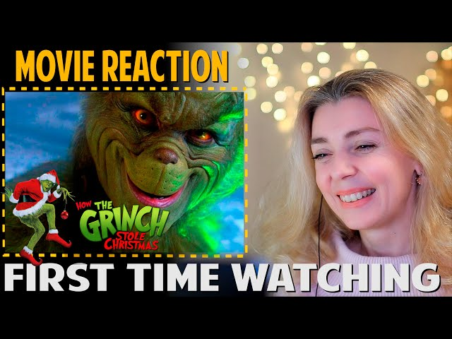MOVIE REACTION | How The Grinch Stole Christmas (2000) | FIRST TIME WATCHING