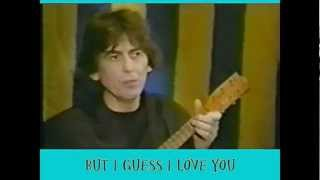 George Harrison - Between the devil and the deep blue sea - lyrics