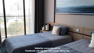 Căn hộ mẫu 2 phòng ngủ, 2 wc (77m2) CSJ Tower Vũng Tàu- Bản Full- 0938253081- Thanh Loan