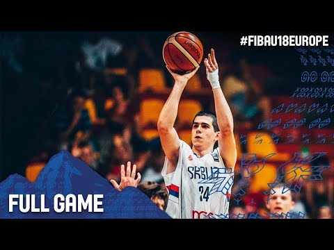 Serbia v Bosnia and Herzegovina - Full Game - Quarter-Final - FIBA U18 European Championship 2017