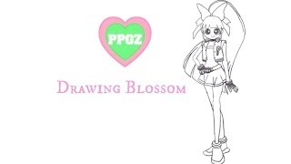 Drawing Blossom from PPGZ