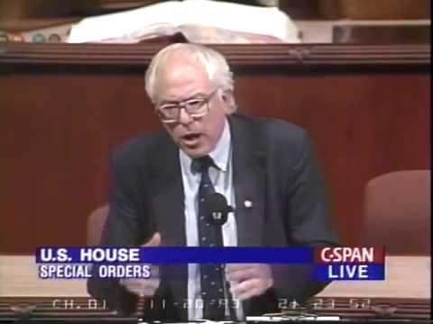 Bernie Sanders on Job Creation (11/20/1993)