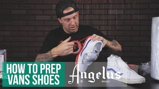 How To Prep Vans For Paint   Ultimate Tips & Tricks Guide To Everything Custom Shoes