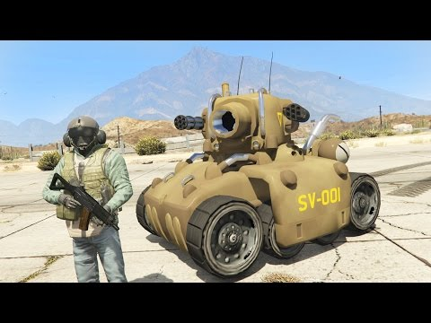 GTA 5 Mods - ULTIMATE MINI TANK MOD!! GTA 5 Mini Tank Mod Gameplay! (GTA 5 Mods Gameplay)