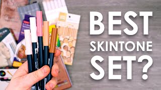 Testing 16 SKIN TONE Sets - WHICH IS BEST?